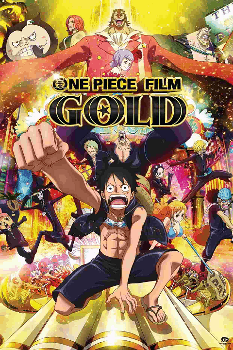 One Piece วันพีช เดอะมูฟวี่ 13 – One Piece Film Gold วันพีช ฟิล์ม โกลด์ (พากย์ไทย)